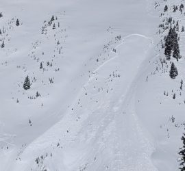big avalanche slab