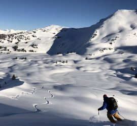 Ski Touring Course in BACKCOUNTRY