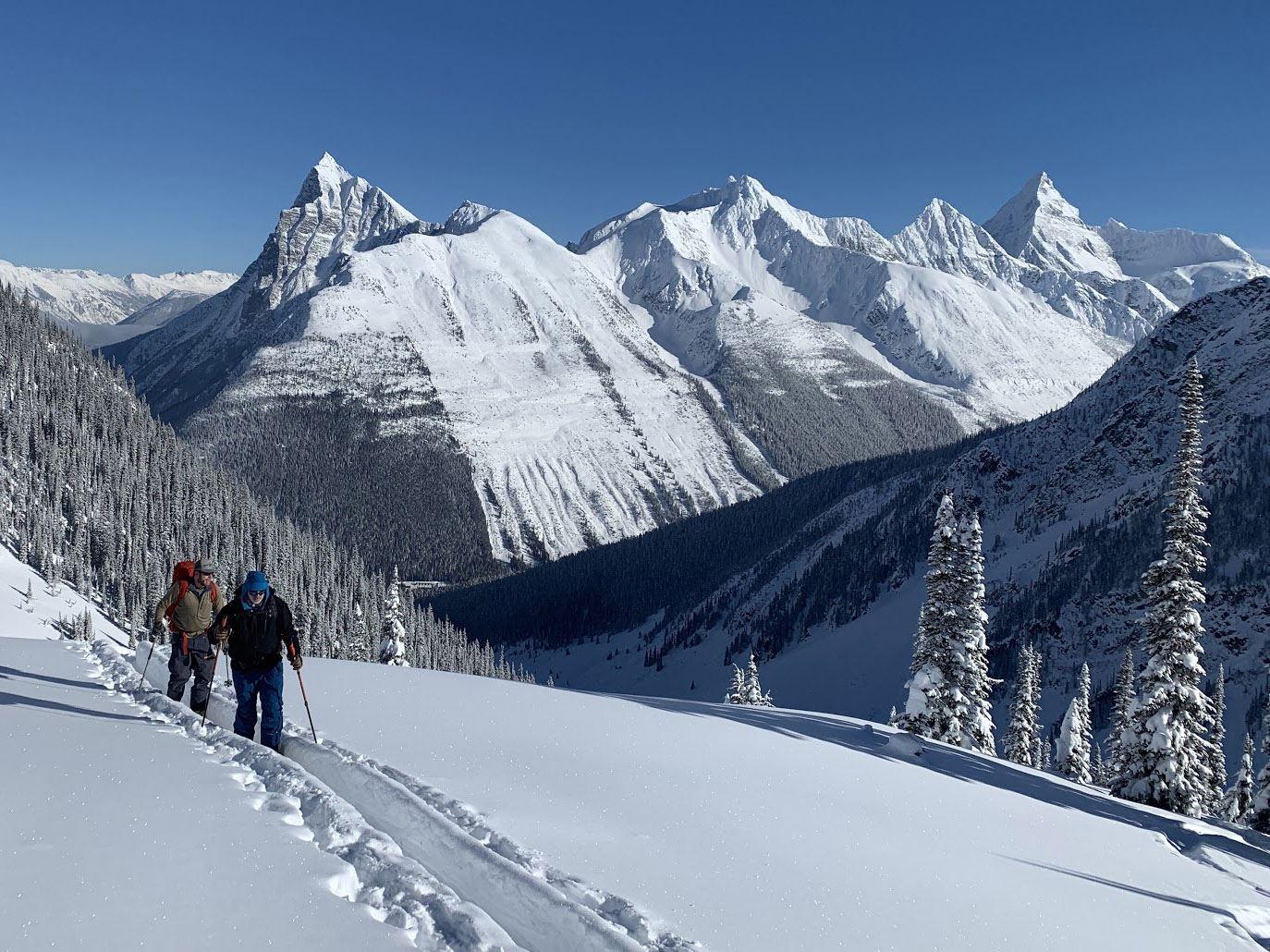 ski touring rogers pass bc