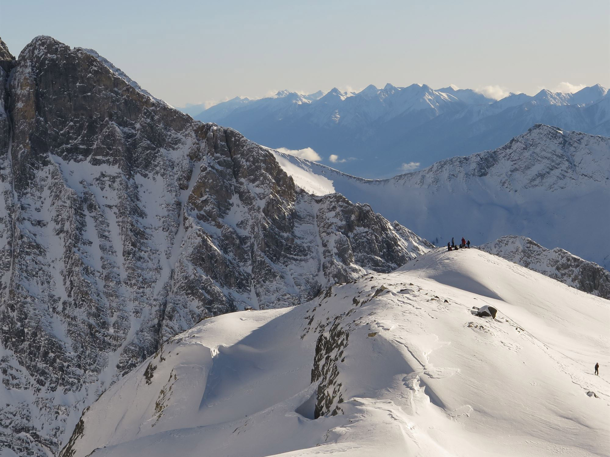 rogers pass national park ski touring
