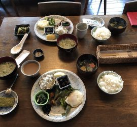 Lunch in hakuba Japan